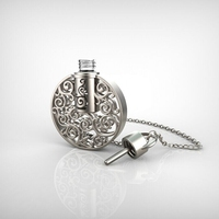 young people like latest design Christmas gift perfume necklace pendant