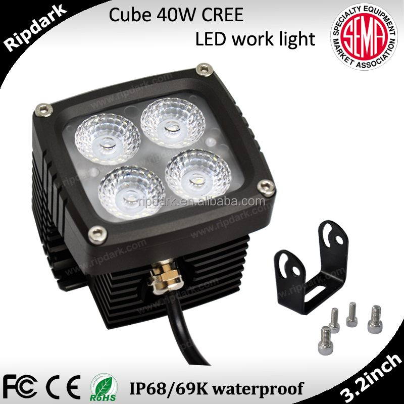 High-end factory wholesale and retail 40w avoid radio interference led tuning light for truck