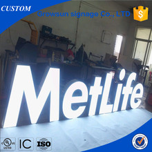 Frontlit Illuminated lighting up alphabet letter LED display <strong>sign</strong> for customized logo