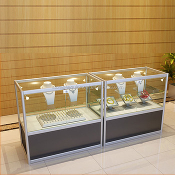 2017 NEW hot sale jewellery Glass displays counter for retail store