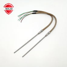 3mm 4mm Diameter 12v 35w Cartridge Heater With Teflon <strong>Leading</strong> Wire