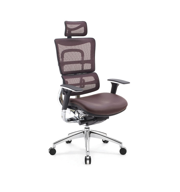 reclining office chair with headrest footrest view reclining office