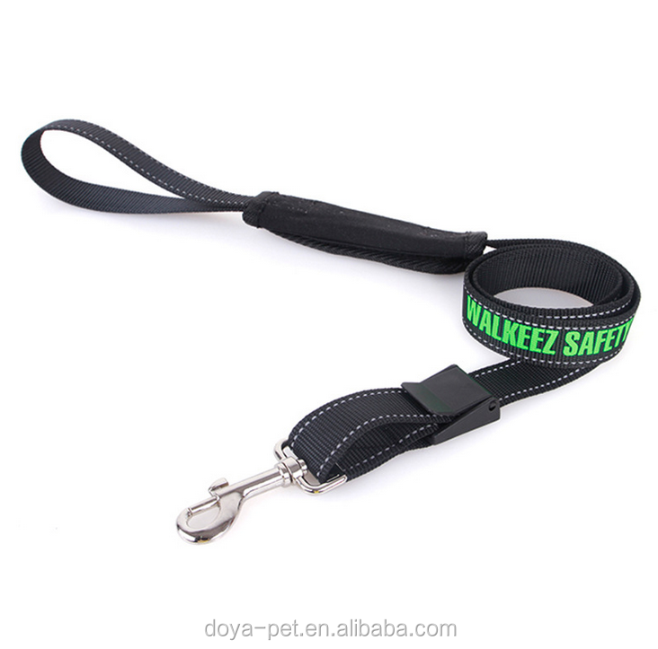 High Quality Wholesale Custom Logo Dog Lead, Nylon Dog Lead Pet Leashes