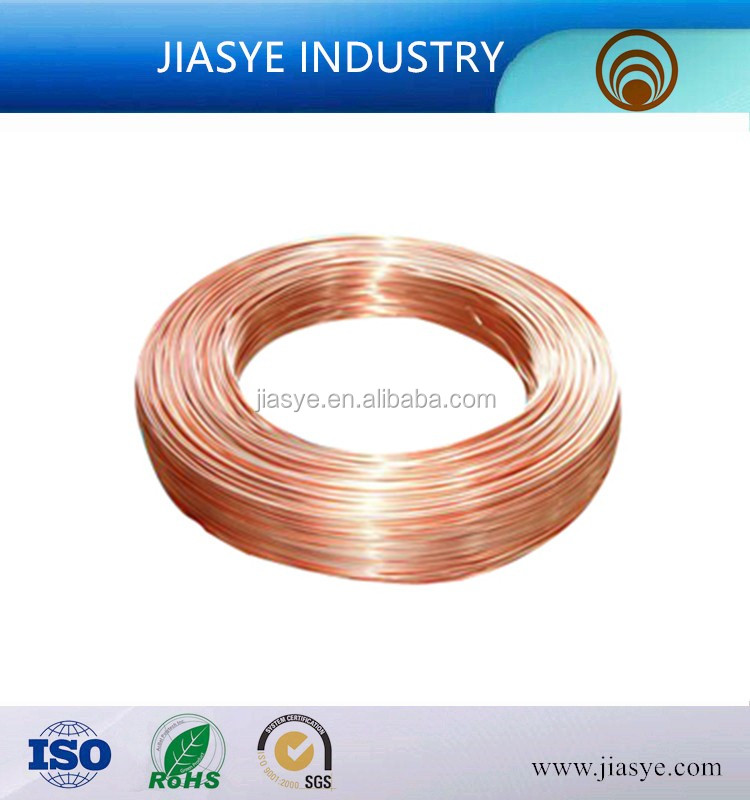 JSY 3.18 *0.5mm BHG2 Bundy tube capillary welded steel tube mild steel used on refrigeration compressor internal discharge tube