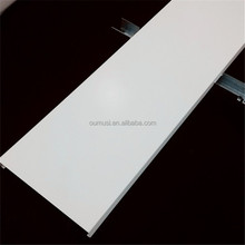 ISO9001 Anti-wind U shape strip ceiling, ceiling pvc cover strip, metal suspended ceiling