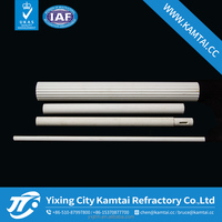 Wholesale price/cone shape alumina ceramic pipe/ roller /tube