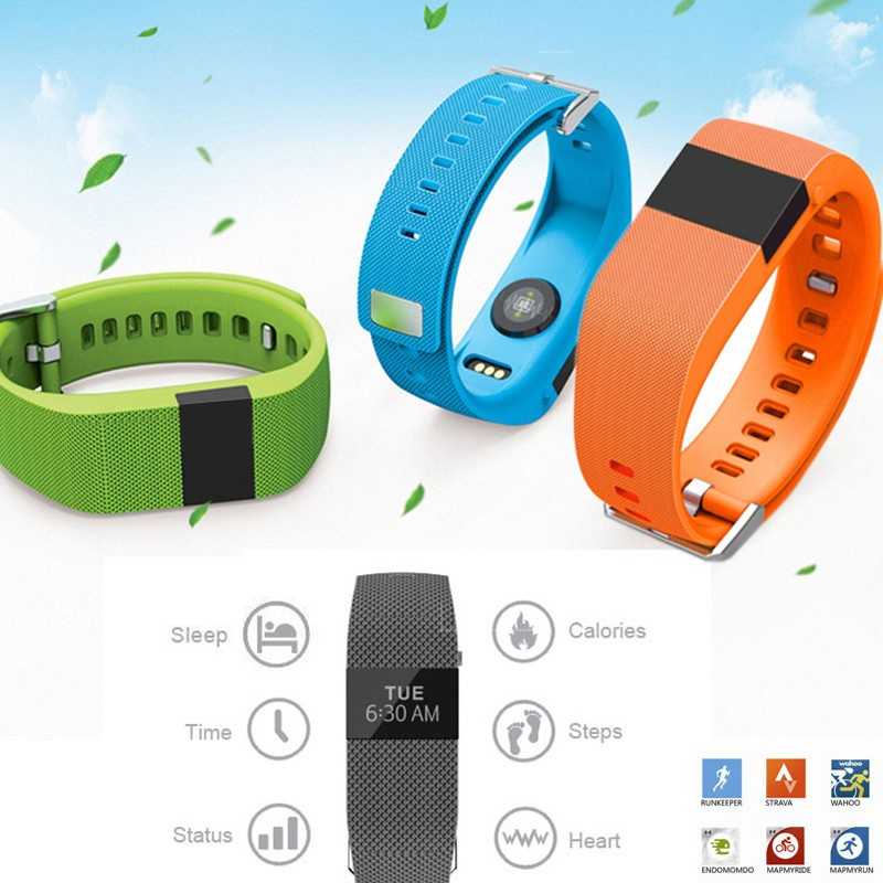 Bluetooth 4.0 Fitness Bracelet JW86 Wristband PK Fitbit Charge HR Heart Rate Monitor Bracelet