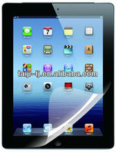 Anti microbial transparent screen protector with fluency handwriting for iPad mini