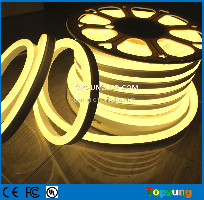 New professional Top View LED neon Flex rope lights warm white