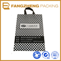Customer printed piastic die cut shopping bags