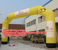 2016 Custom Inflatable Square Arch for Marathon, Triathlon, Race, Event