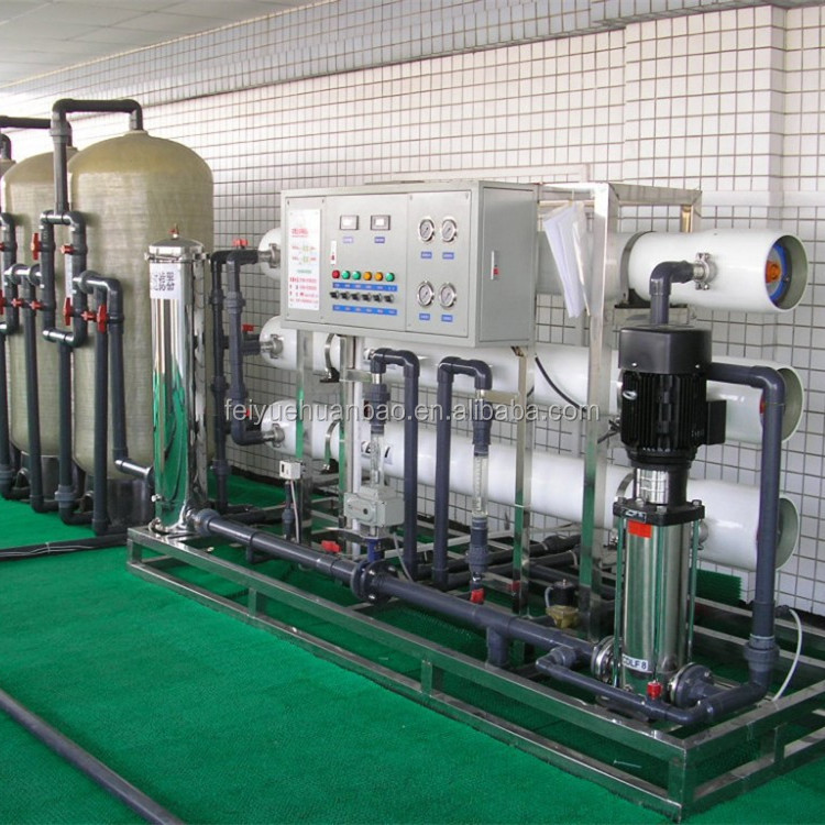 3T/h RO ultra pure water machine for battery liquid