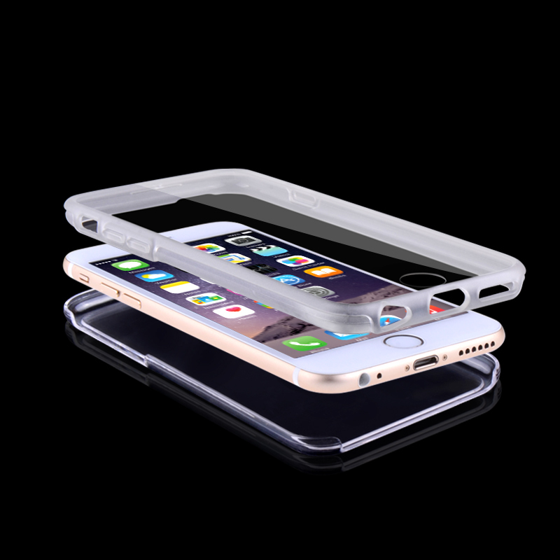 multifunction TPU & PC full complete smart cell 3 in 1 mobile phone cover for iphone 6