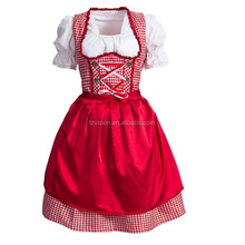 German Girl 3 Pcs Beer Dirndl Bavarian Beer Oktoberfest Costume