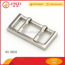 Bag accessories, metal bag buckle, double pin buckle for garment/shoes