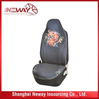 Cheap hot sale promotion full set polyester car seat covers