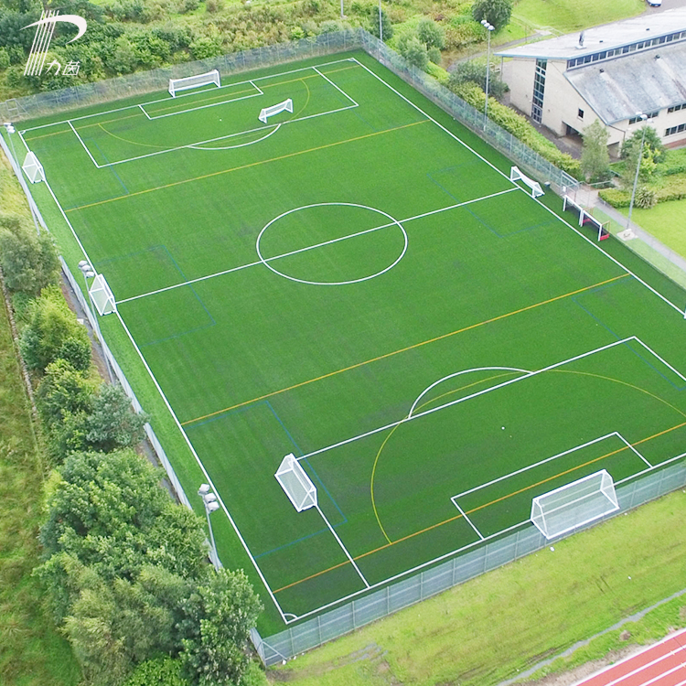 Economical Customized Design Synthetic Grass For Soccer Fields