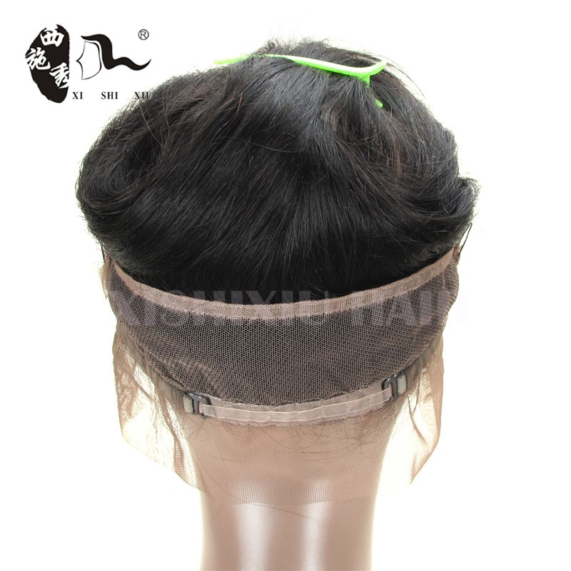 2016 New arrive 360 lace frontal unprocessed brazilian virgin human hair lace frontal in hair extension