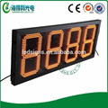 Hi-tech quality factory China Amber custom LED petrol price billboard