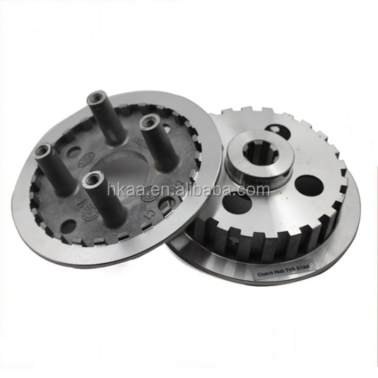 Clutch hub for tvs motorcycle spare parts