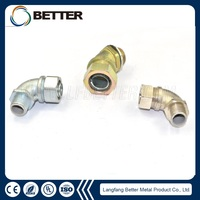 Female Liquid Tight Flexible Conduits Junction Box Electrical Connector