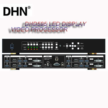 DHN DHD595 multiple Channel 4K Curve Edge Blending lvp video wall Processor full color