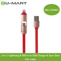 Cable Manufactory 2-in-18 pin USB fast charging cable