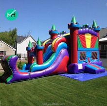 beauty outdoor high quality air bouncer inflatable trampoline for sale
