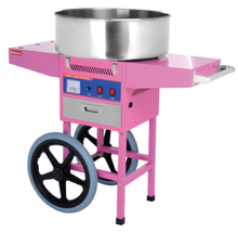 Chinese Hot Commercial Sugar manufacturing cheap automatic cotton candy floss machine for sale