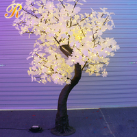 Interior decoration led lighting japanese maple tree