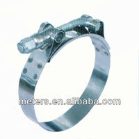 19mm Stainless Steel T bolt Heavy Duty Hose Clamp
