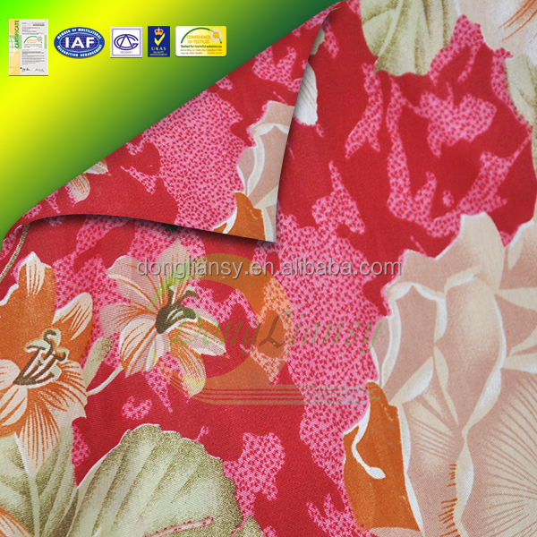 wholesale printed best yarn dyed woven fabric bedding set curtain