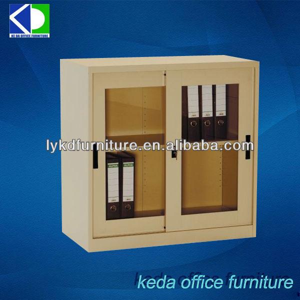 Peque a puerta corredera de acero muebles de vidrio for Puertas correderas pequenas