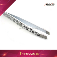 TW1185 Professional silk screen tweezers cosmetic drawing tweezers