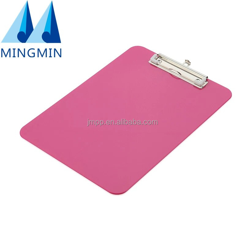 Most popular office supplies display clip A3 A4 A5 standard size hanging writing plastic clipboard