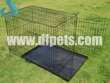 DFPETS DFW006 Metal Dog Cages With Plastic Tray