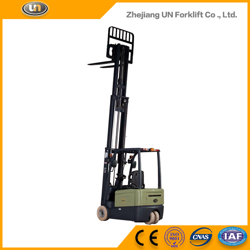 Hot Manual Double Stage Mast 2 Ton Electric Forklift
