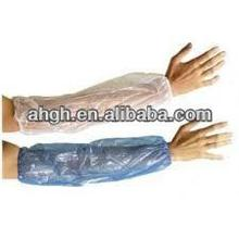 PE arm length sleeve/ disposable HDPE/LDPE sleeve cover