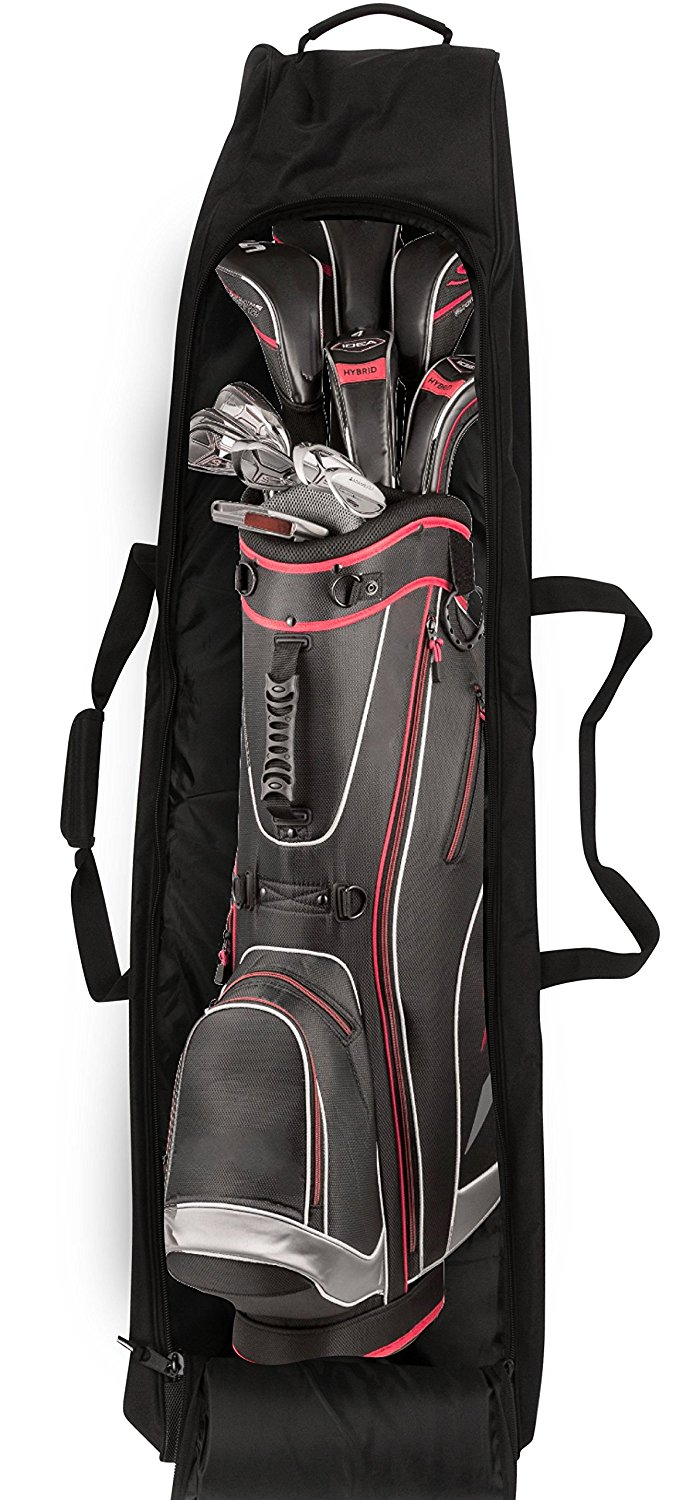 Custom Logo Travel Golf Shoulder Bag Cover Stand
