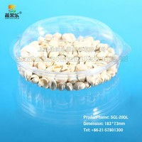 blister disposable plastic PET fresh fruit salad blister packaging container wholesale with different sizes FS-20DL