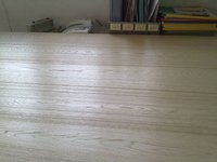 OAK FLOORING white stained
