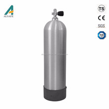 Air 12L Aluminium Alloy 6061 Seamless SCUBA Gas Cylinder For Sale