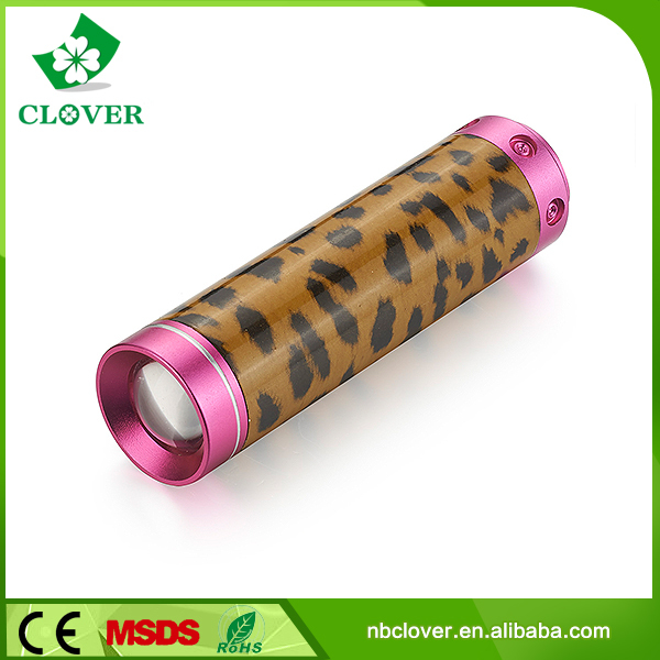 80-90 lumens maximum 1W LED aluminium alloy led flashlight torch