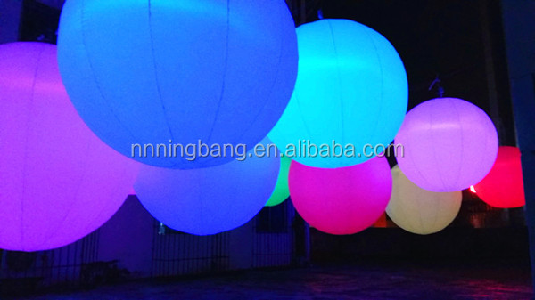 Ningbang 2016 Beautiful inflatable balloon for party decoration