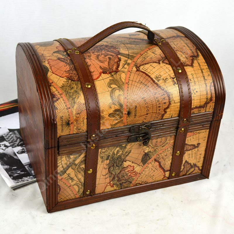 Wholesale 3 sets wooden magic box with lock