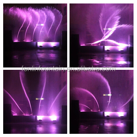 Wholesale dancing rotating digital 3d fountain nozzle with DMX signal