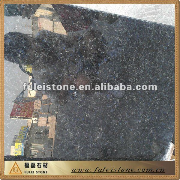 blue granite tiles / Blue pearl/ Volga blue