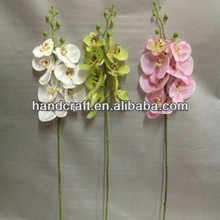 wedding favor white plastick artificial orchid flower