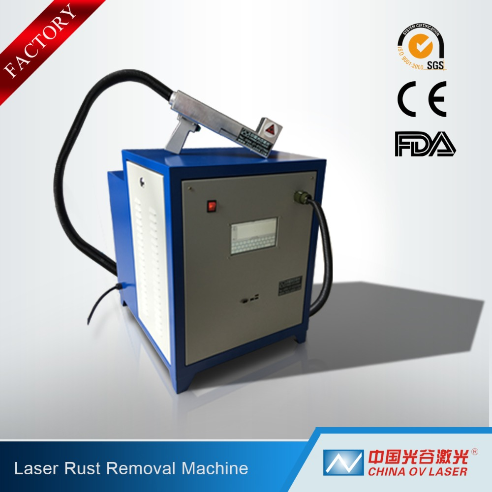 Surface Metal Cleaning Laser Rust Removal Equipment Factory