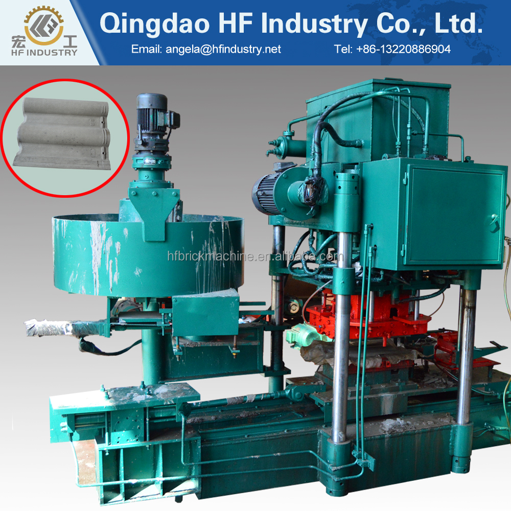 HF8-150 semi automatic concrete roofing tile making <strong>machine</strong>